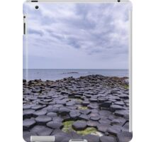 Rocks of the Giant's Causeway iPad Case/Skin