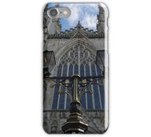 Lights and Sky at York Minster iPhone Case/Skin
