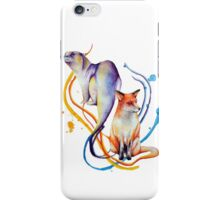 Duality - Otter/Fox Mash Up iPhone Case/Skin