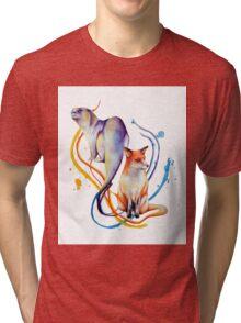 Duality - Otter/Fox Mash Up Tri-blend T-Shirt
