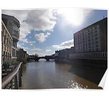 Spring Sunshine Over the River Ouse Poster