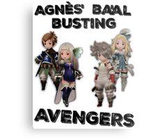 Bravely Second - Agnès' Ba'al Busting Avengers Metal Print