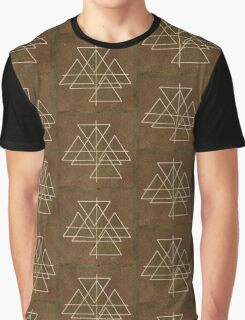 Bundle of Triangles Graphic T-Shirt