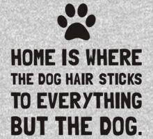Dog Hair Sticks One Piece - Short Sleeve