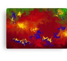Cerimento V1 - digital abstract Canvas Print