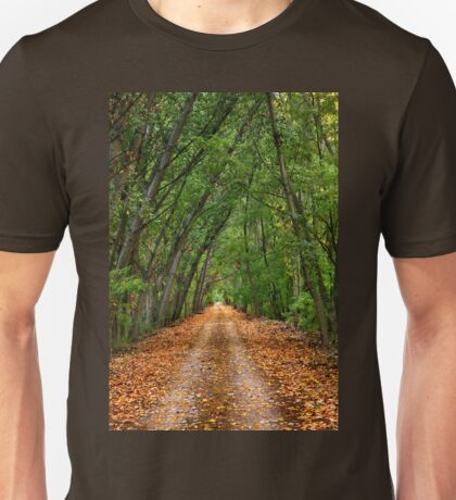 Nestos riverside road - Macedonia, Greece. Unisex T-Shirt