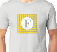 F Checkard Unisex T-Shirt