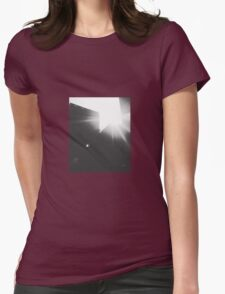 The Sun Shining Bright in the Concrete Jungle Womens Fitted T-Shirt