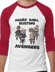 Bravely Second - Agnès' Ba'al Busting Avengers (Thug ver.) Men's Baseball ¾ T-Shirt