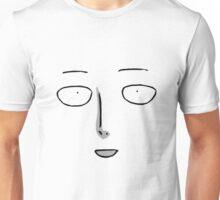 Saitama Poker Face - ONE PUNCH MAN - Manga Style Unisex T-Shirt