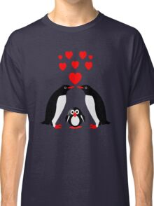 Penguins family Classic T-Shirt