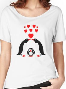 Penguins family Women's Relaxed Fit T-Shirt