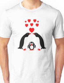 Penguins family Unisex T-Shirt