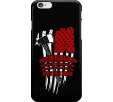 Firefighters never die iPhone Case/Skin