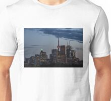 Toronto Skyline at Dusk Unisex T-Shirt