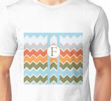F Chevron Unisex T-Shirt