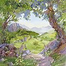 Crabapple, Capel Curig by Anne Bonner