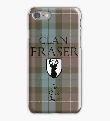 Outlander/Clan Fraser iPhone Case/Skin