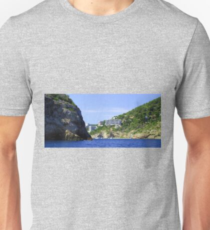Entering Cala Llonga Bay Unisex T-Shirt