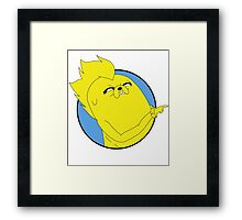 Adventure Time Jake - Shut Yo Face Framed Print