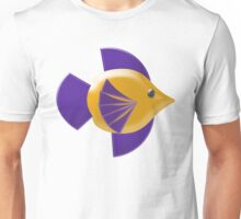 Colorful Tropical Fish Unisex T-Shirt