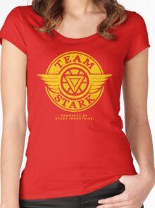 Team Stark Women's Fitted Scoop T-Shirt