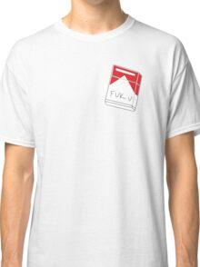 Fuk u cigarettes Classic T-Shirt