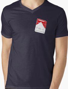 Fuk u cigarettes Mens V-Neck T-Shirt