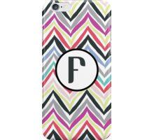 F Chevrony iPhone Case/Skin