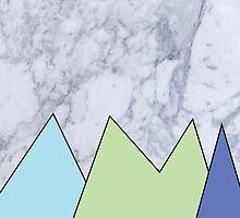 Marble and Shapes by kawaiihibi