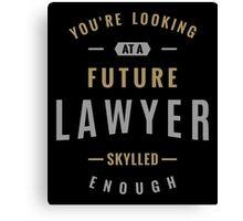 Future Lawyer Canvas Print