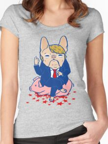 Trumping the Hog Women's Fitted Scoop T-Shirt