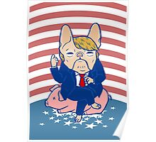 Trumping the Hog Poster