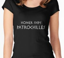 Homer Ships Patrochilles Women's Fitted Scoop T-Shirt