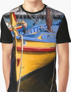 Traditional Catalan fishing boat Graphic T-Shirt