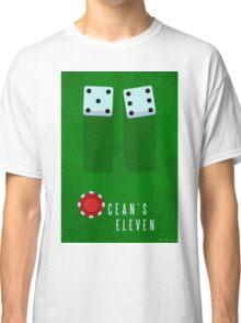 Ocean's 11 Minimal Fan Art Classic T-Shirt
