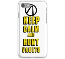 Keep Calm and Hunt Vaults iPhone Case/Skin