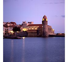 Church of Our Lady of the Angels, Collioure, France Photographic Print