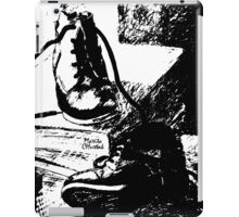 Shoes and Books iPad Case/Skin