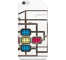 Electronic square light core iPhone Case/Skin