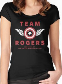 Team Rogers Women's Fitted Scoop T-Shirt