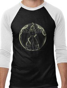 Vitruvian Saiyan ( Goku) Men's Baseball ¾ T-Shirt