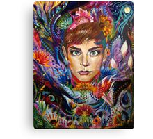 Holly Golightly Carnival Canvas Print