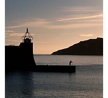 Collioure harbour and quay. Photographic Print
