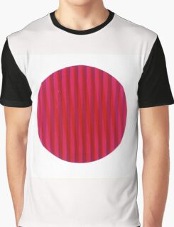 Red disc Graphic T-Shirt