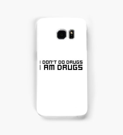 Drugs Party EDM Electronic Music Weed Cool Funny Ironic Comedy Samsung Galaxy Case/Skin