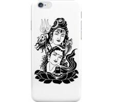 Shiva parvati ji iPhone Case/Skin