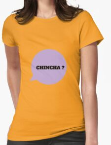 CHINCHA ? - BLACK Womens Fitted T-Shirt
