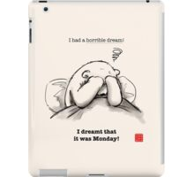 Horrible Dream iPad Case/Skin