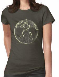 VItruvian Saiyan ( Vegeta) Womens Fitted T-Shirt